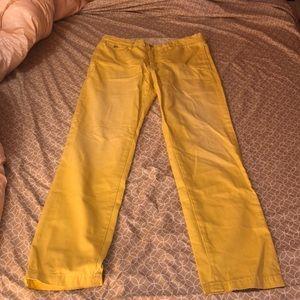 Men's Yellow Khakis